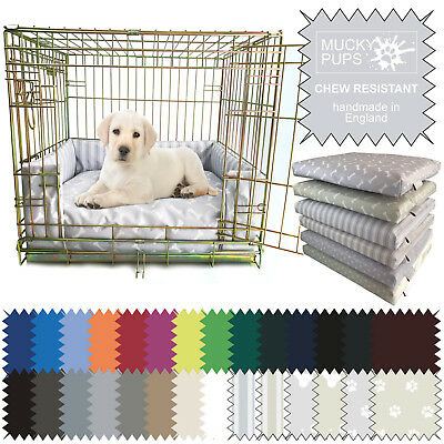 Dog Bed Chew Resistant Waterproof Puppy crate Pad/ Cushion/ Bumper Heavy Duty