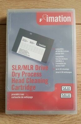 Imation #12094 SLR/MLR Dry Process Cleaning Cartridge Tape NEW, FACTORY SEALED