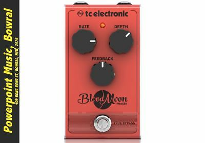 TC Electronic Blood Moon Phaser Pedal + Free Shipping RRP $109
