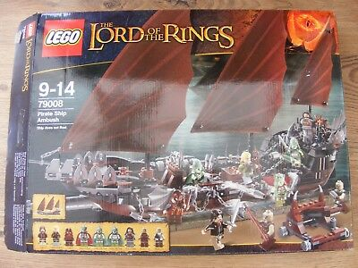 Lego Pirate Ship Ambush Set 79008 The Lord Of The Rings 5600