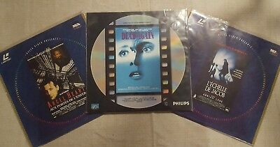 Lot Laserdisc PAL : DEAD AGAIN , L'ECHELLE DE JACOB, ANGEL HEART