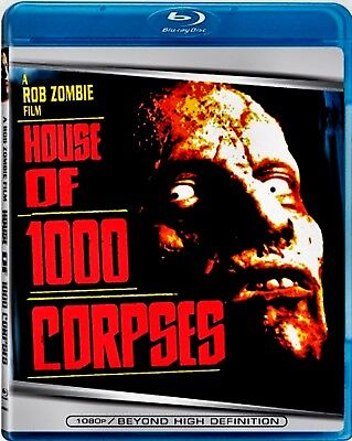 NEW  BLU RAY -  HOUSE of 1000 CORPSES - ROB ZOMBIE - Bill Moseley, Karen Black,