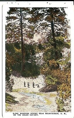 1023 Manzana Spring nr Mountainair-Belen Cutoff, NM.,FRED HARVEY  Postcard.