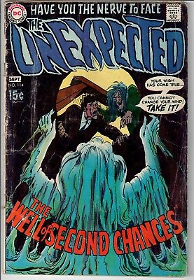 Unexpected DC late Silver / early Bronze Age mystery/horror lot #114 117 125 NR