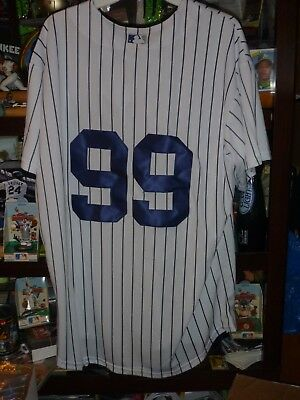 cc7cbcb9217 NEW Majestic Aaron Judge  99 New York Yankees Men s XL White CoolBase Jersey  NWT