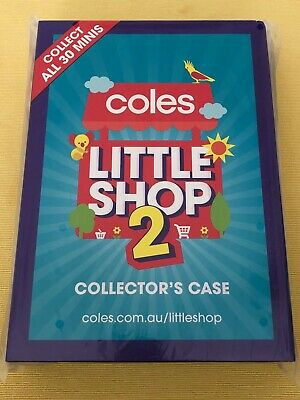 Coles Christmas Edition Little Shop Collector's Cases And Minis Sold Separately