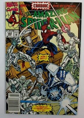The Amazing Spider-Man #360 1st Appearance Carnage (Cameo) Newsstand Marvel