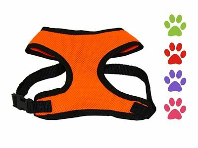 CuteNfuzzy Comfort Air Mesh Dog Harness Adjustable for Easy Fit Breathable