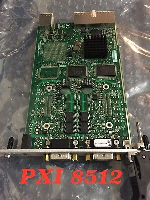 National Instruments PXI-8512 2 PORT CAN Interface PXI Module