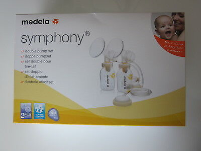 Medela - Symphony - Double Pump Set - Brand New In Box