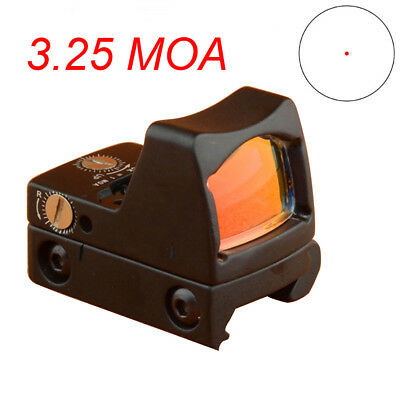 US Tactical Rifle Scope RMR 3.25 MOA Style Reflex Red Dot Sight Hunting