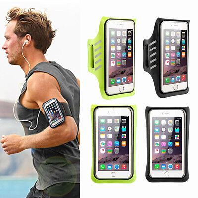 Sports Gym Armband Cover Case Arm Holder For iPhone Samsung Large Cell Phone
