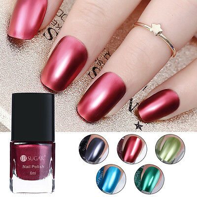 Metallic Metal Nail Polish Mirror Effect Chrome Nail Art Polish Varnish