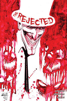 The Rejected # 1 2nd printing Comic Source Point HOT HTF Low Print Run