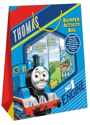 Thomas The Tank Engine & Friends Bumper Colouring Activity Filled Gift Bag THBAB