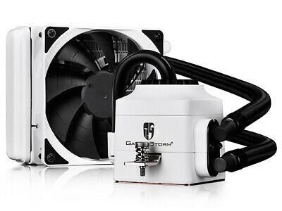 Deepcool Gamer Storm Captain PC Gaming 120EX AIO Liquid Cooling, WHITE