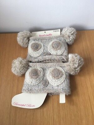 Next Boot Cuffs - Give Your Boots A Makeover  Rrp £12 Bear Animal