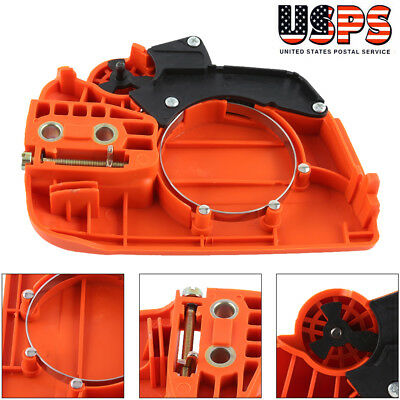 Clutch Cover Chain Brake Assembly For Husqvarna 350 235 235E 236 240 Chainsaw