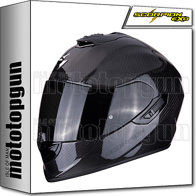 9d8cb2fcb27ce Scorpion 14-261-100 Casco Moto Integrale Exo-1400 Air Solid Carbonio Xl