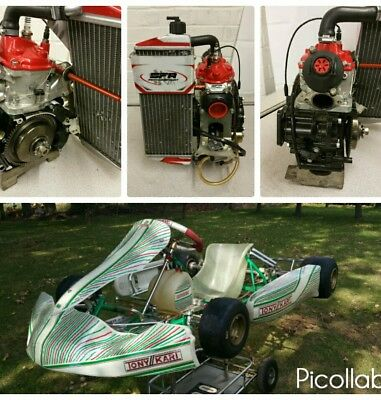 Kart OTK Tonykart 2016 Rolling + 2017 Rotax Senior Evo Engine And Setup