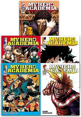 My Hero Academia Volume 11-15 Collection 5 Books Set (Series 3)  Manga Books