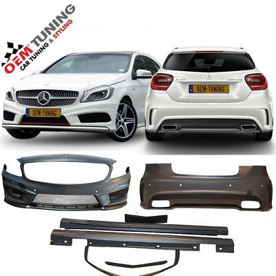 Mercedes A-CLASS W176 AMG BODYKIT | 2012-2015 | AMG | NO GRILLE | NO ENDTIPS