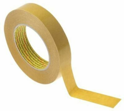 3M 9040 Beige Double Sided Paper Tape, 25mm x 50m, 0.1mm Thick