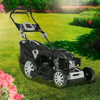 20'' 218cc Lawn Mower Self Propelled Gasoline Lawnmower Garden Grass Trimmer AU