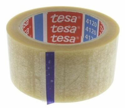 Tesa 4120 Transparent Single Sided Packaging Tape 66m x 50mm