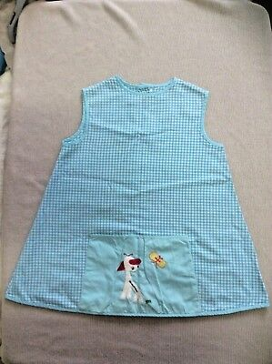 Art Smock with Front Pocket about 5 year old Vintage