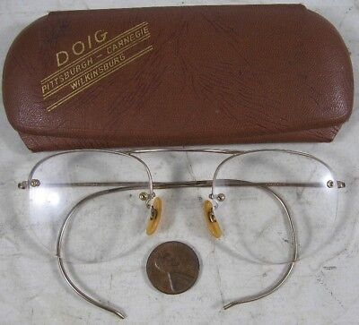Pair of Antique 1930's Glasses 1/10 12K Gold Filled