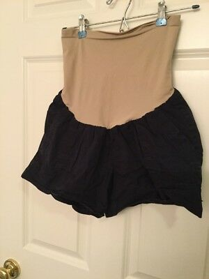 Motherhood Maternity Shorts Blue Sz. Large