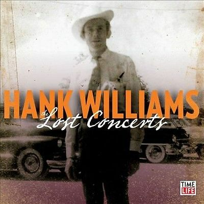 HANK  WILLIAMS  The Lost Concerts [Limited Collector's Edition TIME LIFE NEW CD