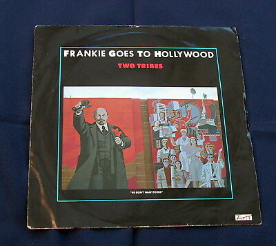 "Frankie Goes to Hollywood 'two tribes' Vinyl Record 7"" - 45 RPM.  1984 Issue"