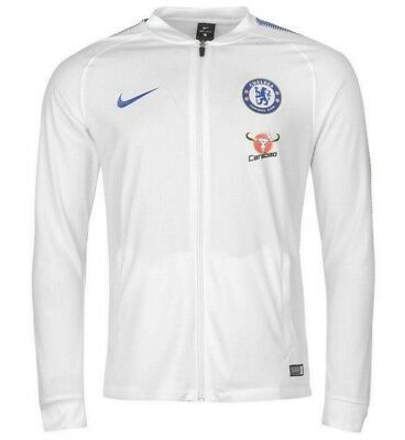 NIKE MEN S CHELSEA FC 2017  2018 Authentic Franchise Track Jacket ... 959cb4222
