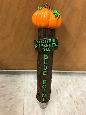 Blue Point Brewing Co. Mother Pumpkin Ale Beer Keg/Tap Handle Long Island PERFEC