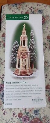 Dept 56 Dickens Village King's Road Market Cross~Never Removed from Box~