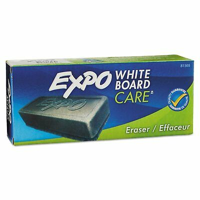 Expo Block Eraser 81505 Dry Erase Whiteboard Board Soft Pile, 5 1/8W x 1 1/4 H
