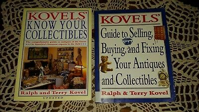2 KOVELS' GUIDE TO SELLING, BUYING & FIXING & Know Your Collectibles