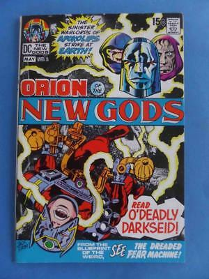 New Gods 2 1971 Kirby! 1St Darseid Cover! High Grade Nm-