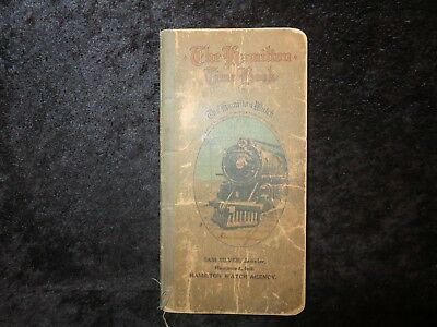 The Hamilton Watch Time Book 1916
