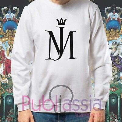 Michael Jackson Felpe Cappuccio Girocollo The King Of Pop MJ Jacko idea regalo33