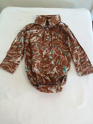18 Month Baby Wrangler Button Up Shirt