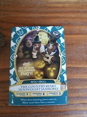 Sorcerers of the Magic Kingdom 2017 Halloween Party Card Country Bears