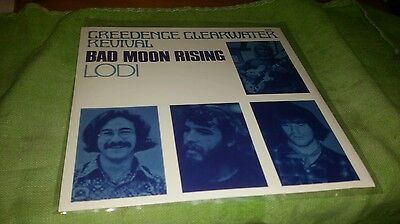 Creedence Clearwater Revival picture sleeve 45 Bad Moon Rising reissue