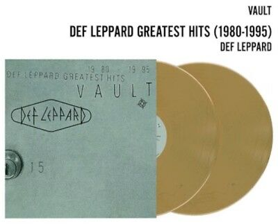 Def Leppard Vault Greatest Hits 1980-1995 Double Gold Vinyl Limited Edition OOS