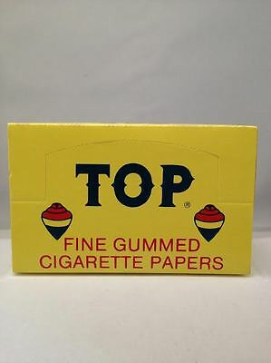 Top Fine Gummed Cigarette Papers 24 Booklets.