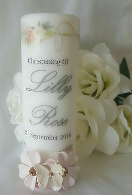 Baptism / Christening/ Naming Day Candle Keepsake