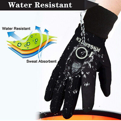 Outdoor Gloves Kids Winter Warm Waterproof Running Sports Bike 3M Touchscreen UK