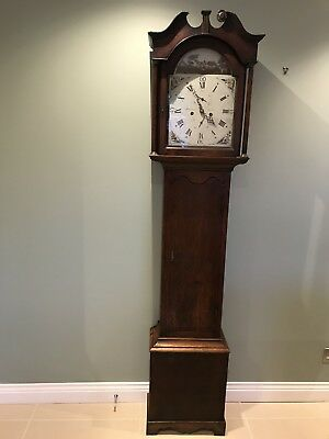 Longcase/Grandfather Clock Scottish PT. Fenwick Crieff  18th Century